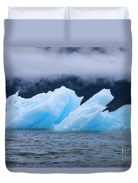 Blue Iceberg Duvet Cover