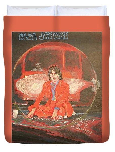 Blue Jay Way Duvet Cover