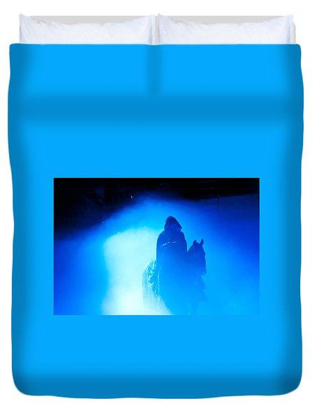 Blue Knight Duvet Cover