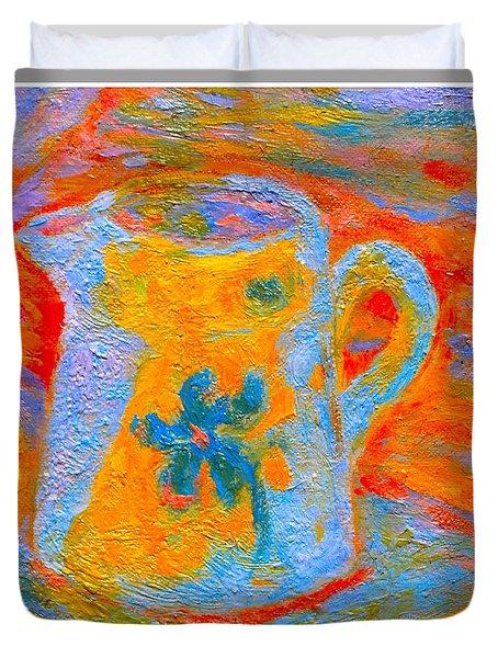 Blue Life Duvet Cover