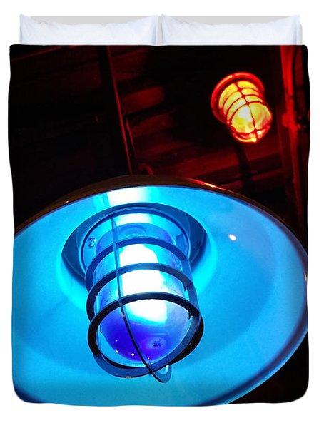 Blue Light Special Duvet Cover