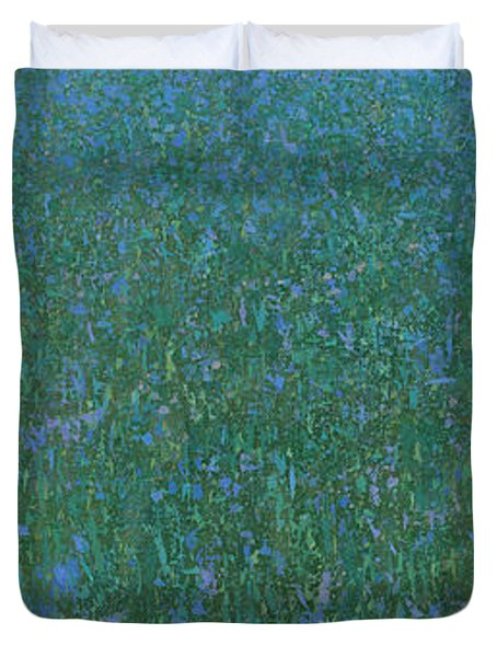 Blue Meadow 2 Duvet Cover by Steve Mitchell