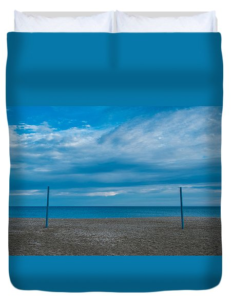Blue Med Duvet Cover