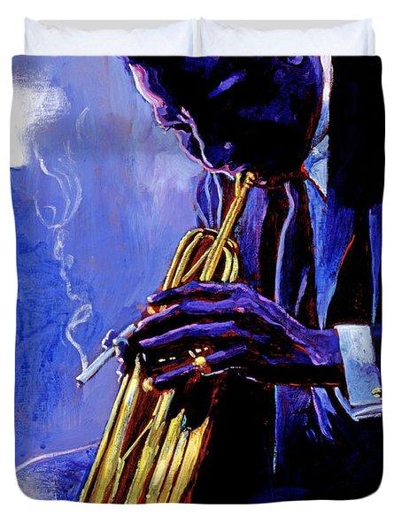 Blue Miles Duvet Cover