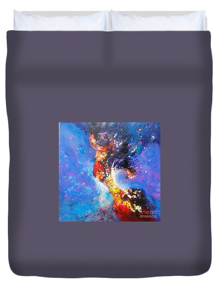 Blue Mirage Duvet Cover