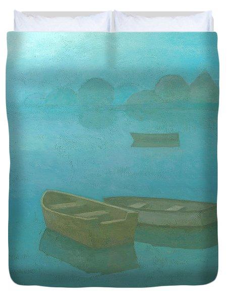 Blue Mist Duvet Cover