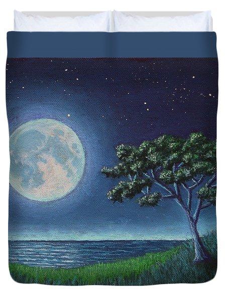Blue Moon 01 Duvet Cover