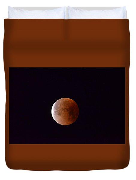 Blue Moon 1-31-18 Duvet Cover
