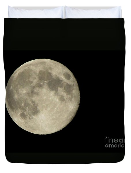 Blue Moon 2012 Duvet Cover