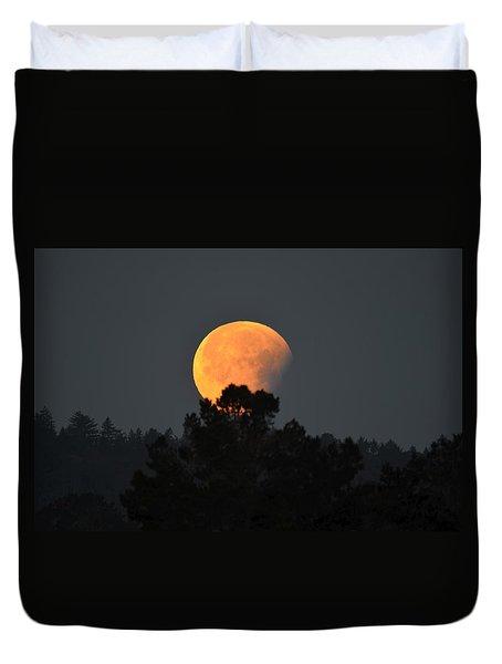 Blue Moon Duvet Cover