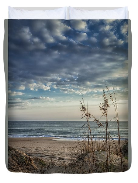 Blue Morning Duvet Cover by David Cote