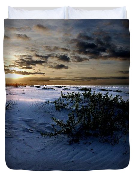 Blue Morning Duvet Cover by Michael Thomas