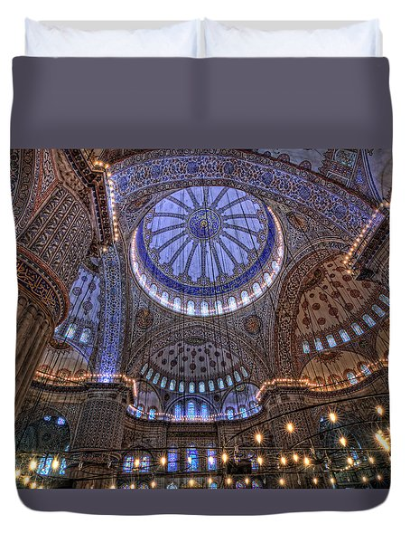 Blue Mosque Duvet Cover