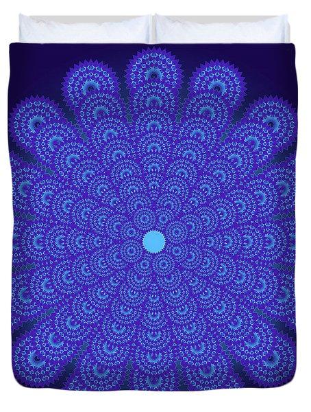 Blue Obsession Duvet Cover