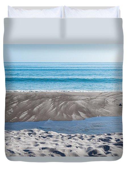 Blue Ocean Duvet Cover by Martin Capek