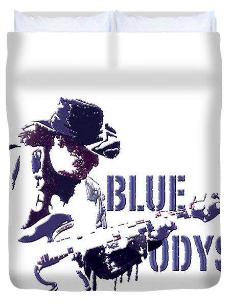 Blue Odyssey Duvet Cover