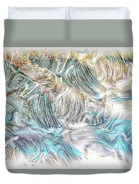Blue Palette Duvet Cover