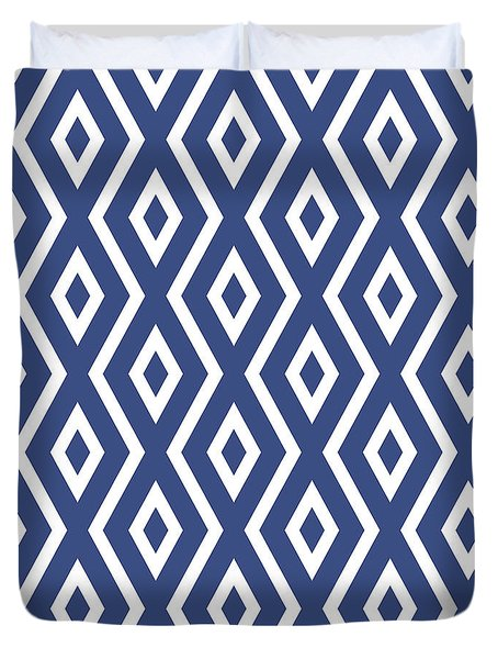 Blue Pattern Duvet Cover