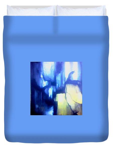 Blue Patterns Duvet Cover
