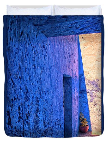Blue Peru Duvet Cover