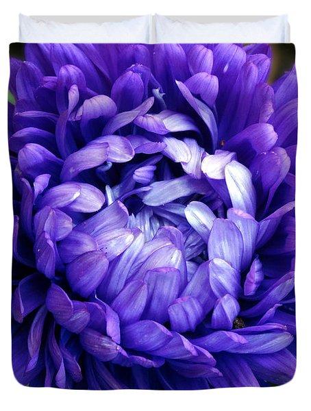 Blue Petals Duvet Cover
