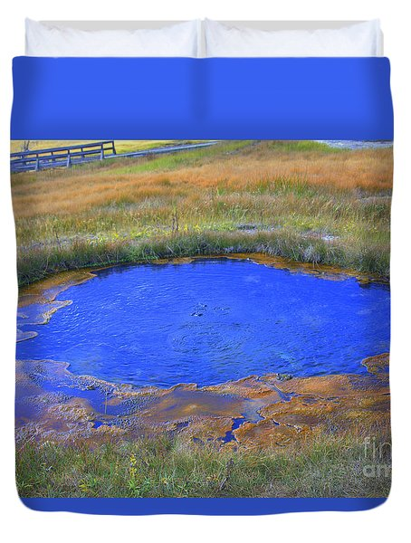 Blue Pool Duvet Cover