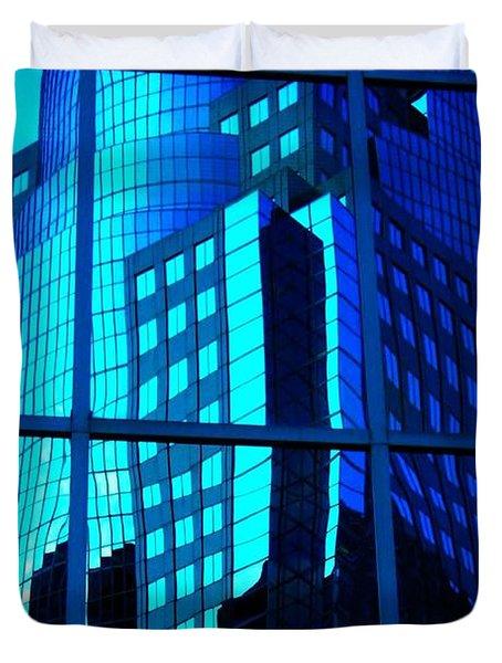 Blue Reflections ... Duvet Cover by Juergen Weiss