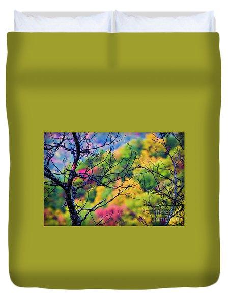 Blue Ridge Autumn Duvet Cover
