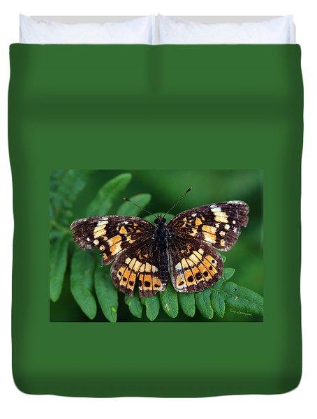 Blue Ridge Butterfly Duvet Cover