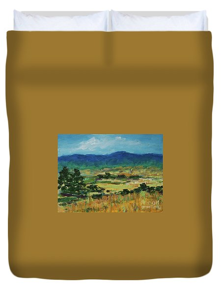 Blue Ridge Duvet Cover
