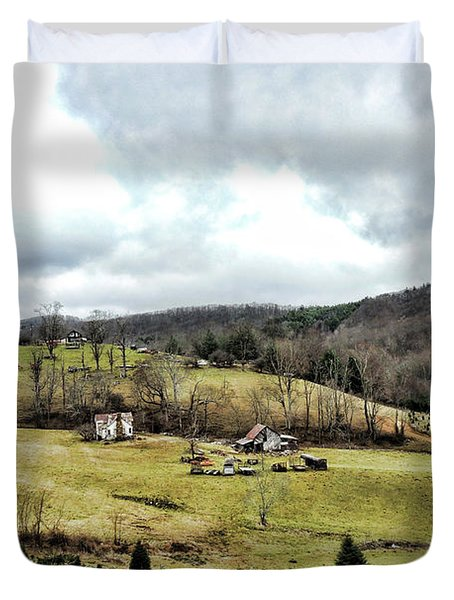 Blue Ridge Homestead Duvet Cover