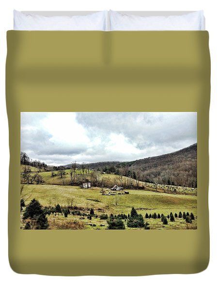 Blue Ridge Homestead Duvet Cover