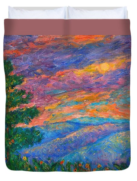 Blue Ridge Jewels Duvet Cover
