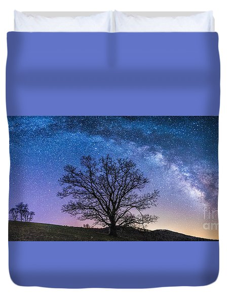 Blue Ridge Milkyway Duvet Cover