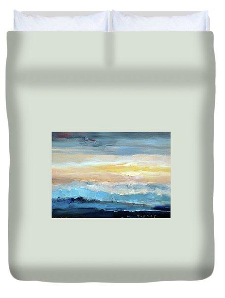 Blue Ridge Mountain Sunset 1.0 Duvet Cover