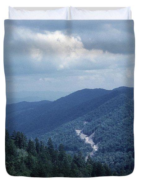 Blue Ridge Mountains 2 Duvet Cover