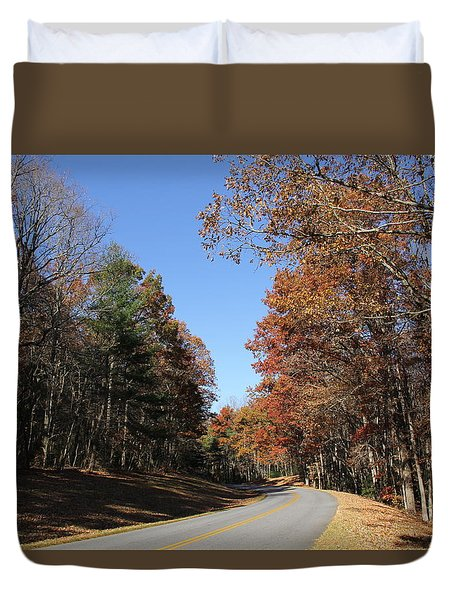 Blue Ridge Parkway Duvet Cover