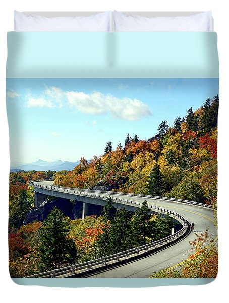 Blue Ridge Parkway Viaduct Duvet Cover