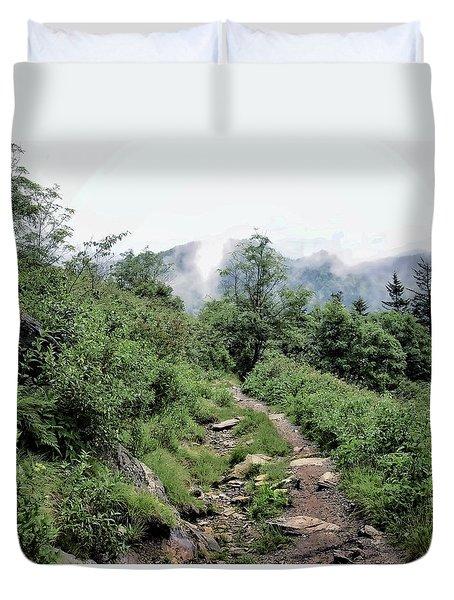 Blue Ridge Trail Duvet Cover
