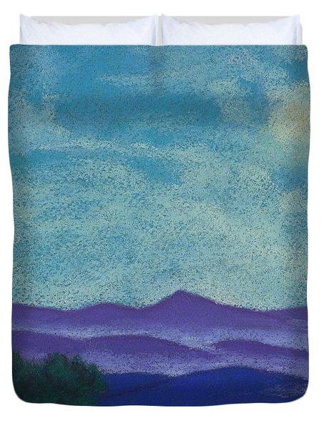 Blue Ridges Mist 1 Duvet Cover
