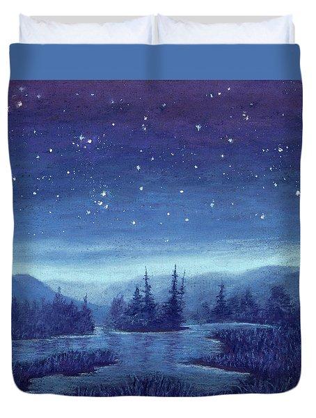 Blue River 01 Duvet Cover