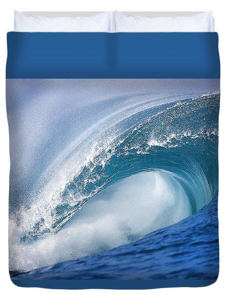 Blue Rush Duvet Cover