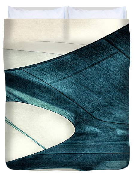 Blue Sails Duvet Cover