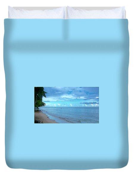 Blue Sand Duvet Cover