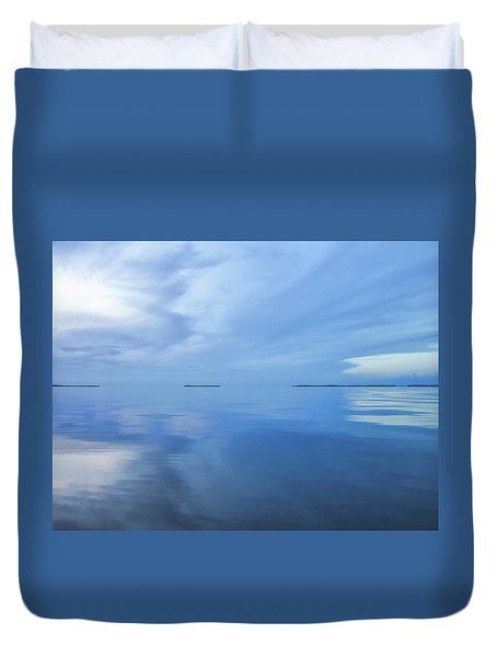 Blue Serenity Duvet Cover