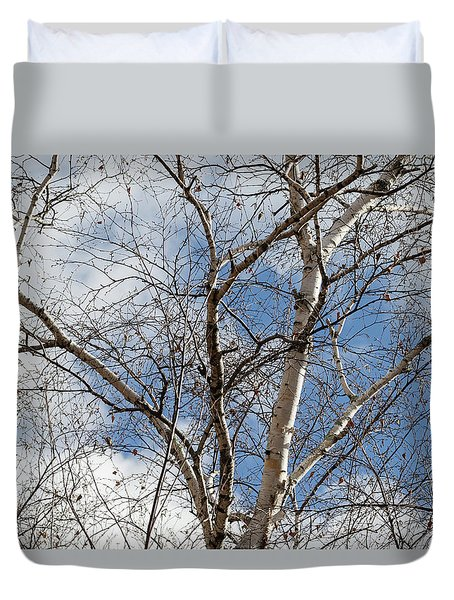 Blue Sky In The Middle - Duvet Cover