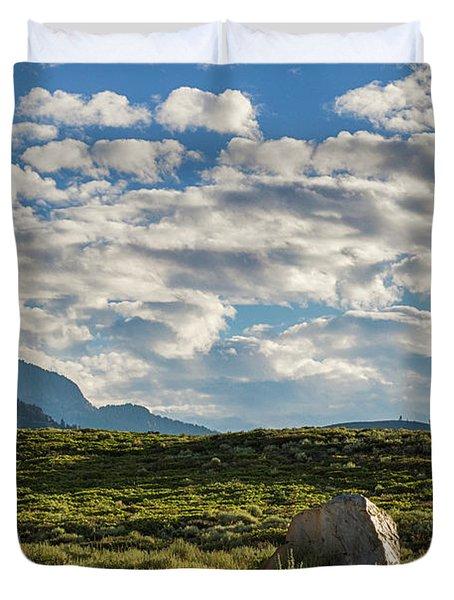 Blue Sky Monmouth  Duvet Cover