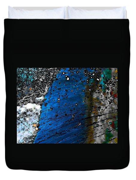 Blue Spectacular Duvet Cover