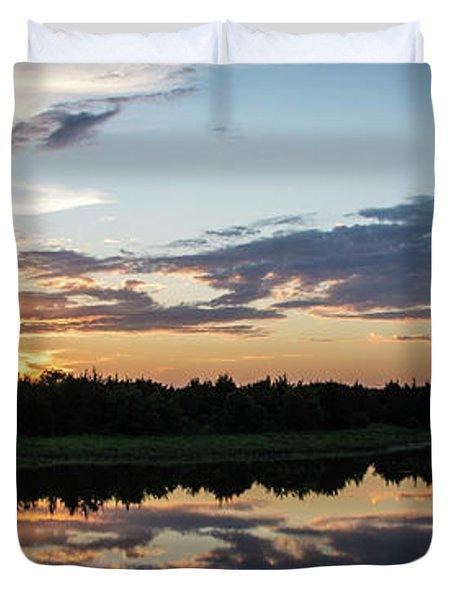Blue Sunset 2 Duvet Cover