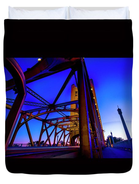 Blue Sunset- Duvet Cover